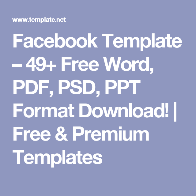 facebook template – 49+ free word, pdf, psd, ppt format download, Powerpoint templates