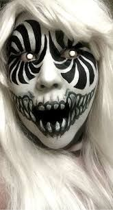 swirly eyes scary halloween makeupscary - Scary Halloween Eye Makeup