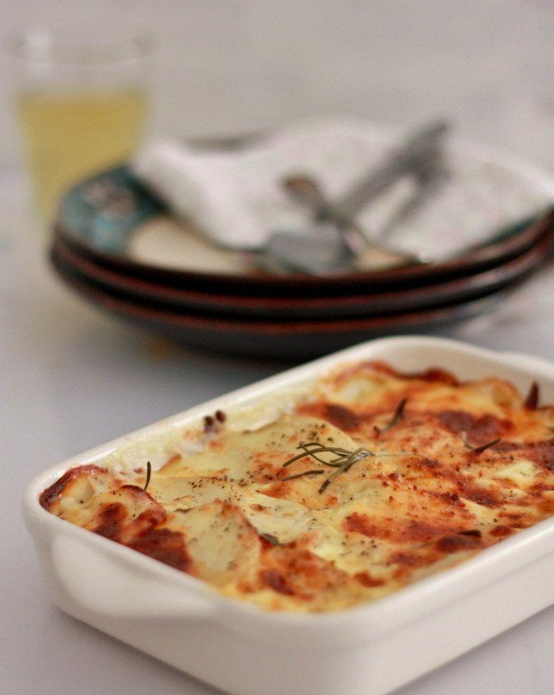 Recetas de patatas gratinadas al horno