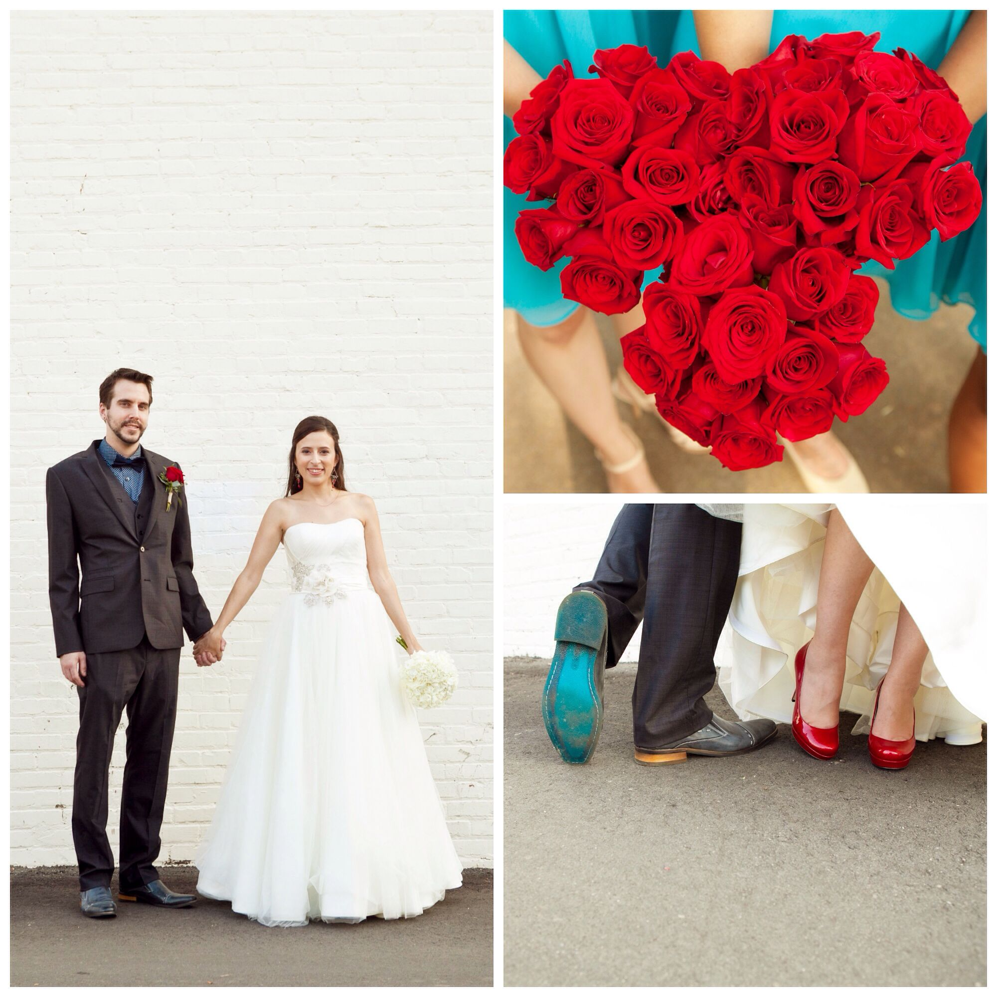 Teal and Red Wedding | Teal & Red Wedding | Pinterest | Red wedding ...