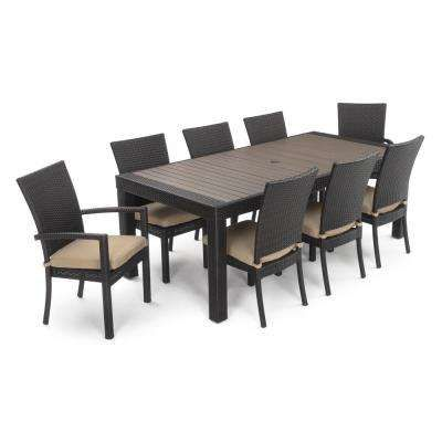20+ Tegan 9 piece dining set with cushions Best Choice