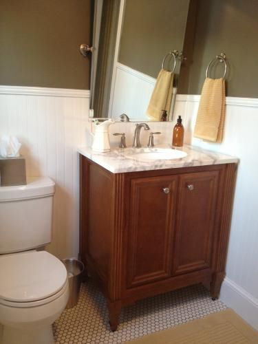St Paul Stone Effects Floia Vanity Top Example