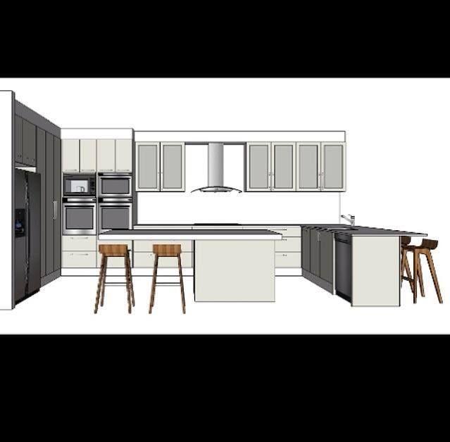 Kitchen Design Designing Decor 3D Design Sketchup Interior Gorgeous 3D Design Kitchen Design Ideas