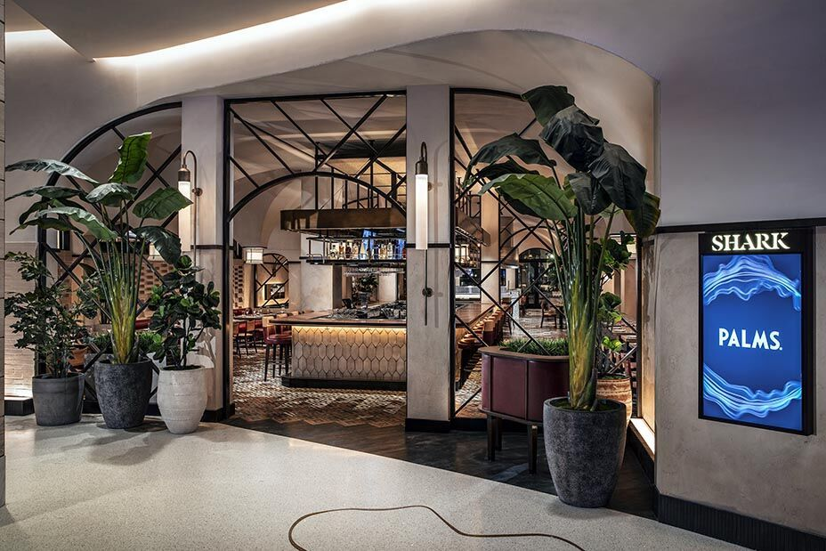 Restaurant Plants Bobby Flay's Shark at the Palms in 2020