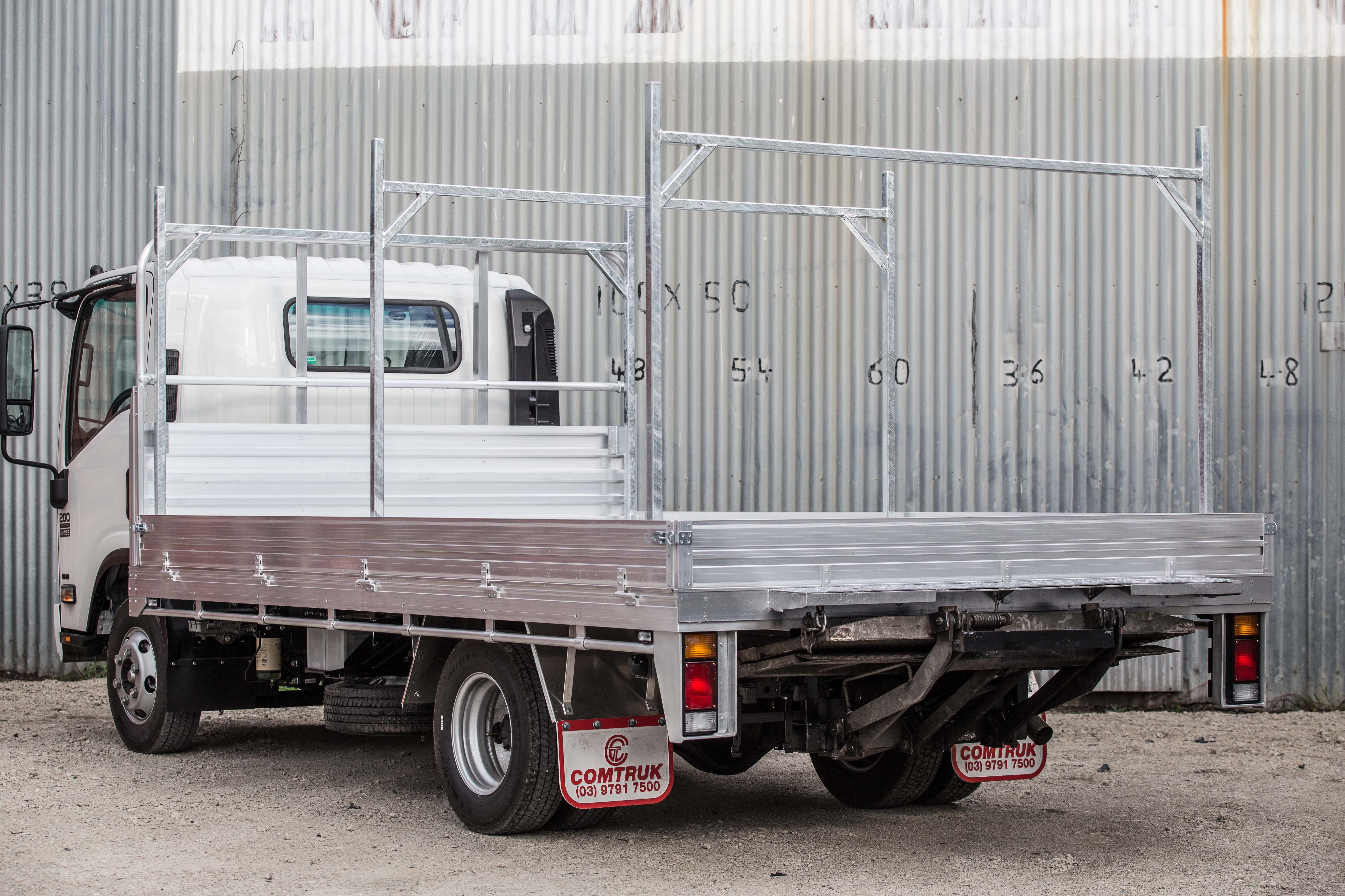 Custom aluminium ute tray by comtruk alloy ute tray custom melbourne
