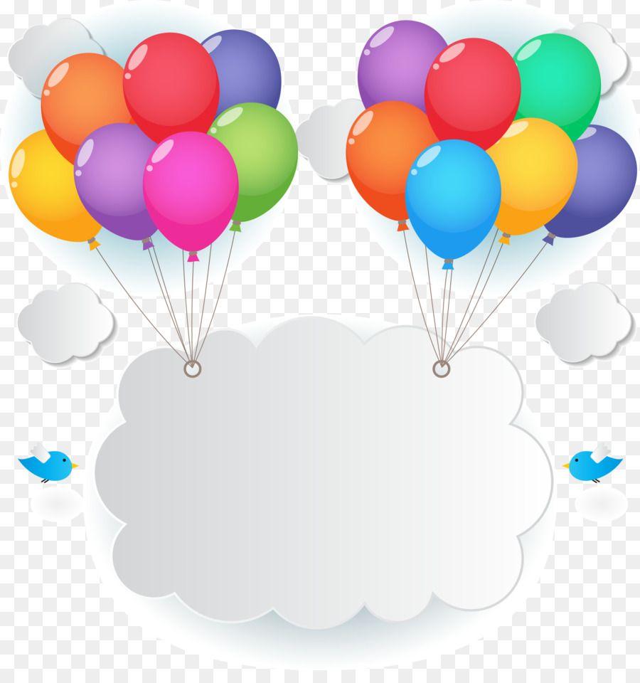 Birthday Wish Balloon Clip Art