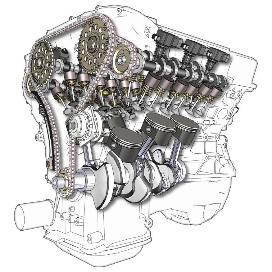 Explanation Inline Vs V Engine Is A Hard Debate As We Can See High Performance Vehicles With Both Engine Layouts The 6 Cylinder Is The Ideal Engine For