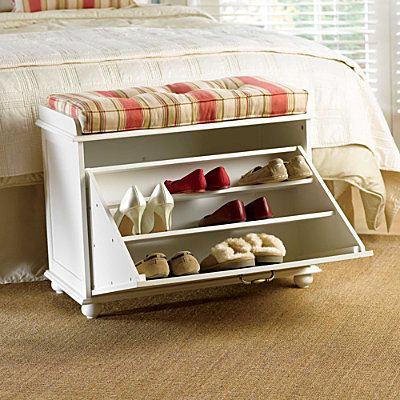 Shoe Storage Bench 159 Preferences Dual Purpose Nightstand More Lightweight Dividers