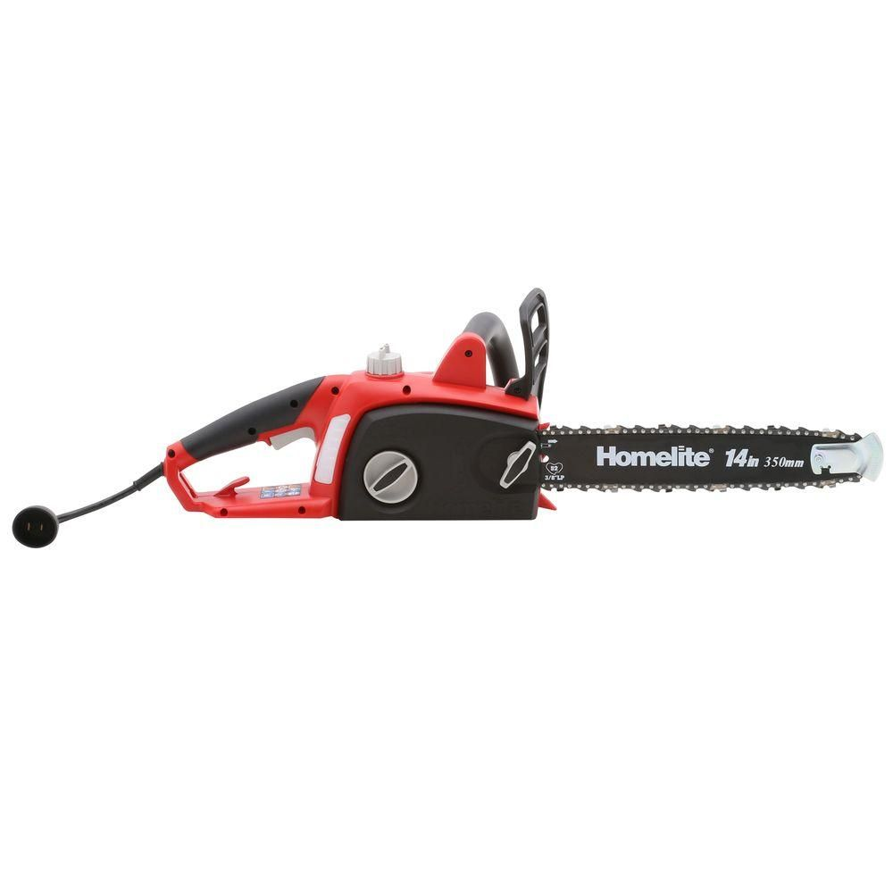 Homelite 14 in 9 amp electric chainsawut43103a