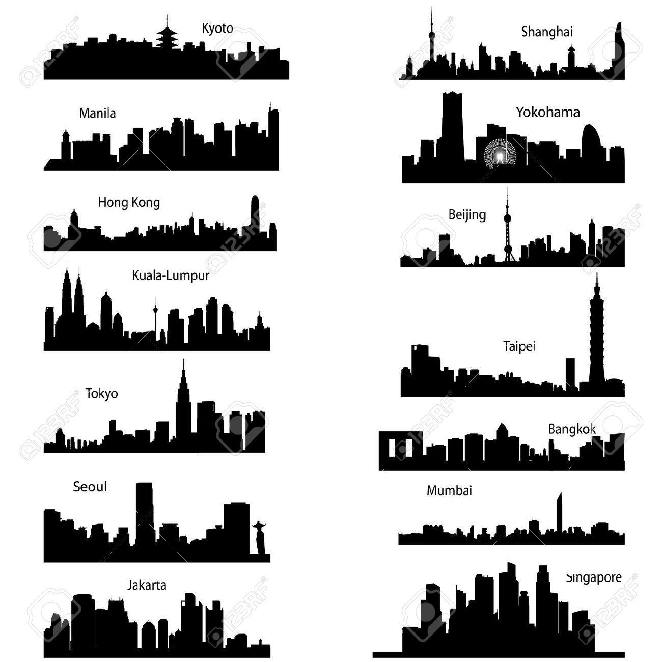 City Landscape Silhouette | www.pixshark.com - Images ...