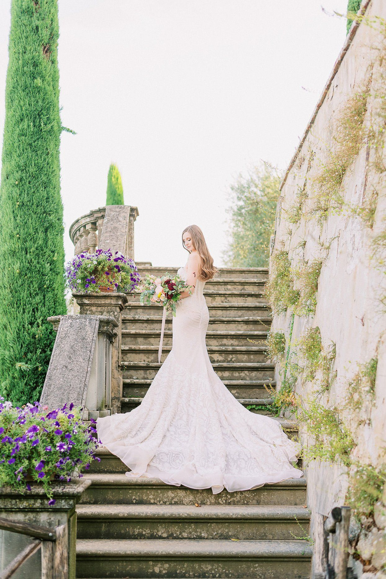 This Couple Tied The Knot At Sting S 16th Century Villa In Tuscany In 2020 Tuscany Wedding Italy Wedding Tuscany Wedding Venue