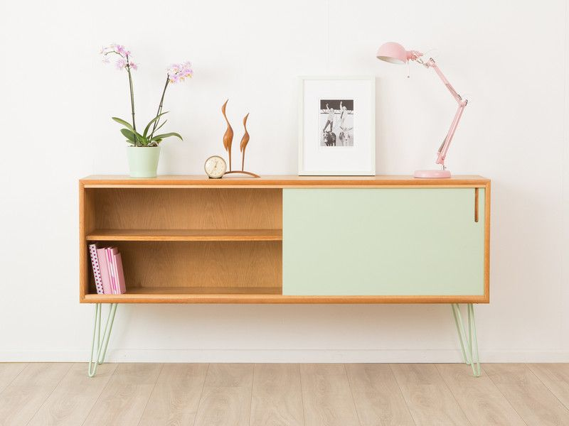 1960er sideboard kommode 50er vintage von mid century friends auf mid century. Black Bedroom Furniture Sets. Home Design Ideas