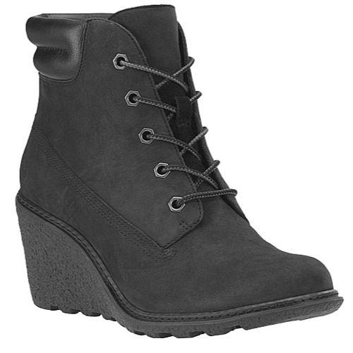 Timberland Women's Amston 6 inch Wedge Heels Boots, Women's