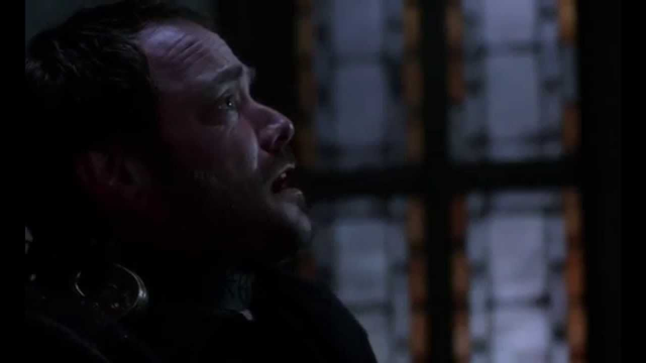 "8x23 Crowley: ""I deserve to be loved!"" scene"