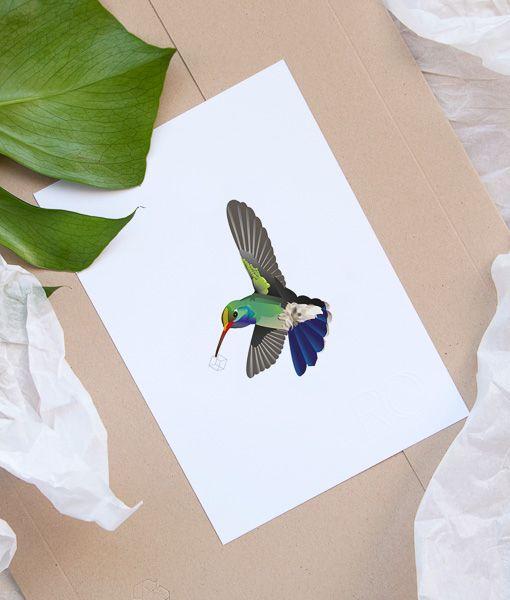 Door De Snelle Vleugelslag Kan De Kolibrie Als Enige Vogel Ook Achteruit Vliegen Zelfs Recht Omhoog En Recht Omlaag De H 3 1 Wanddecoratie Home Prach