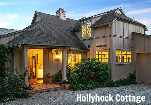 Hollyhock A Moody Sisters Cottage In Montecito Shabby ChicCottage ExteriorWindow
