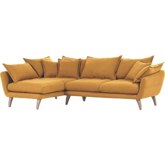 Ecksofa Valby   Baumwollstoff   Fashion For Home