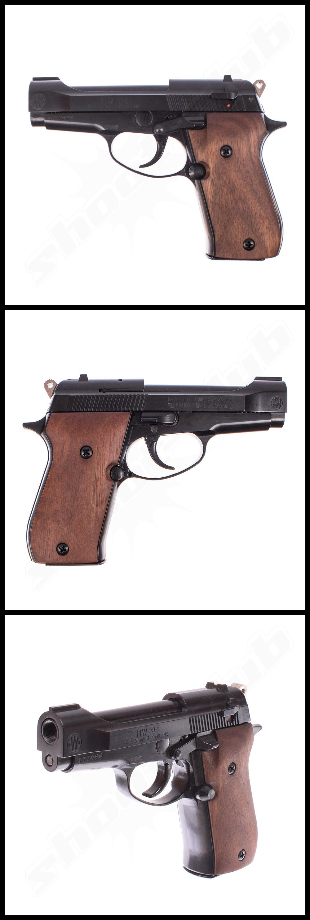 weihrauch hw94 schreckschusspistole 9mm r k weitere. Black Bedroom Furniture Sets. Home Design Ideas