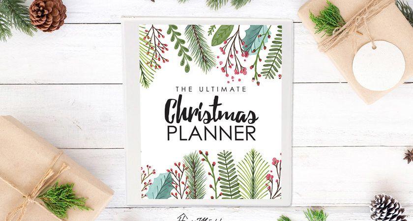 The ultimate christmas planner christmas checklist