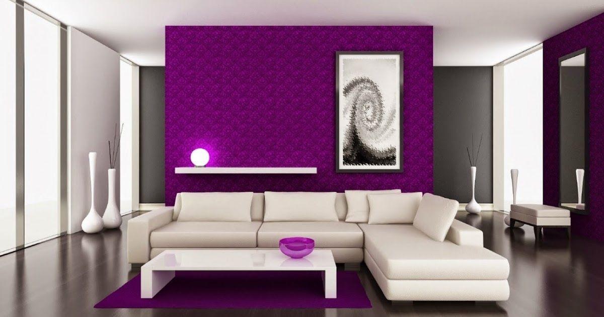 Decoracion De Salas En Color Violeta Diseno Y Decoracion Del Hogar Design And Dec Decoracion De Salas Fotos De Salas Modernas Decoracion De Interiores Salas