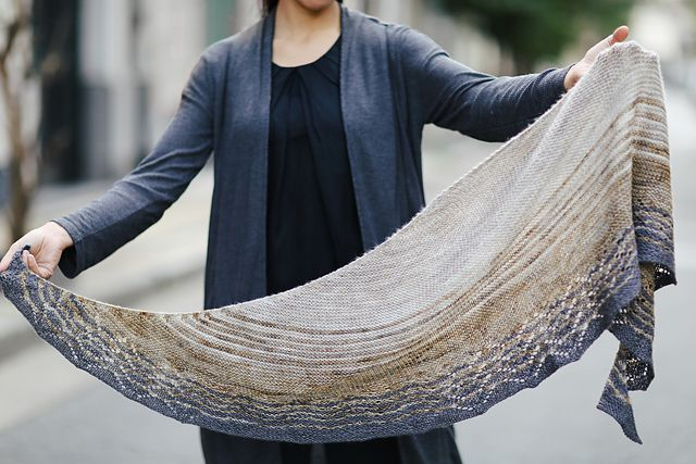 Jodi and Tracie are two shawls I designed to honor two very good friends. Get at 30% of BOTH SHAWLS if you buy them together -you will need to put them together in your cart and buy them at the same time for the discount to work-.