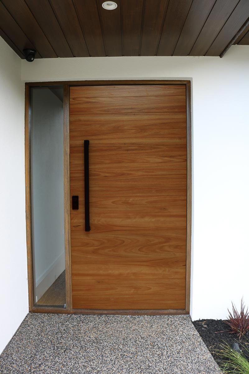 Pull Handle Set 900mm Matte Black Entrance Door Design