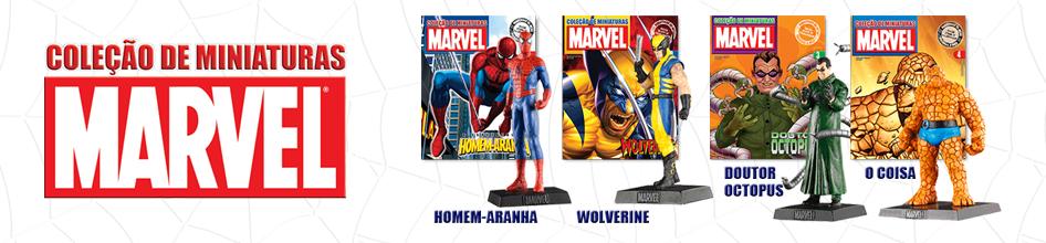 Coleções: O Senhor dos Anéis, DC Comics, Marvel Figurines, James Bond Cars, Ferrari Collection