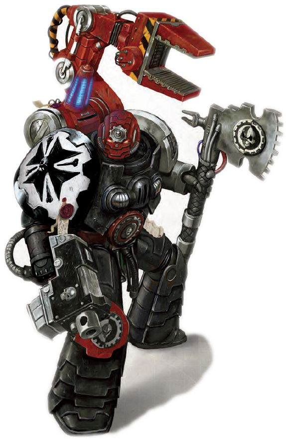 Black Templar Tech-Marine