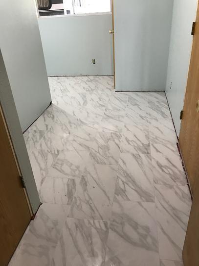 kitchen floor tiles home depot baldwin cabinet hardware trafficmaster strata 12 in. x 24 glazed ceramic ...