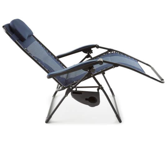Best Wilson Fisher Navy Blue Padded Reclining Zero Gravity 640 x 480