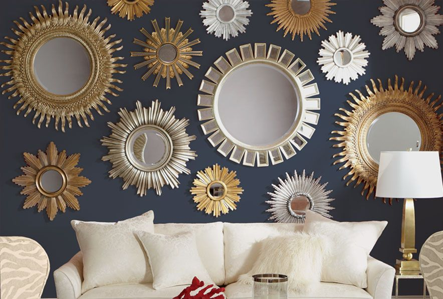 Repeat After Me Ethan Allen The Art Of Making Home Mirror Decor Mirror Wall Living Room Mirror Design Wall