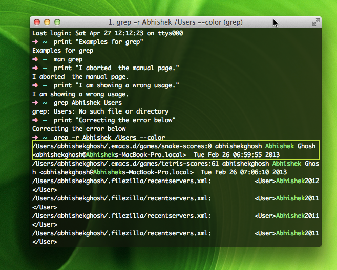 Grep Command Details Examples And Usages Of Grep Command