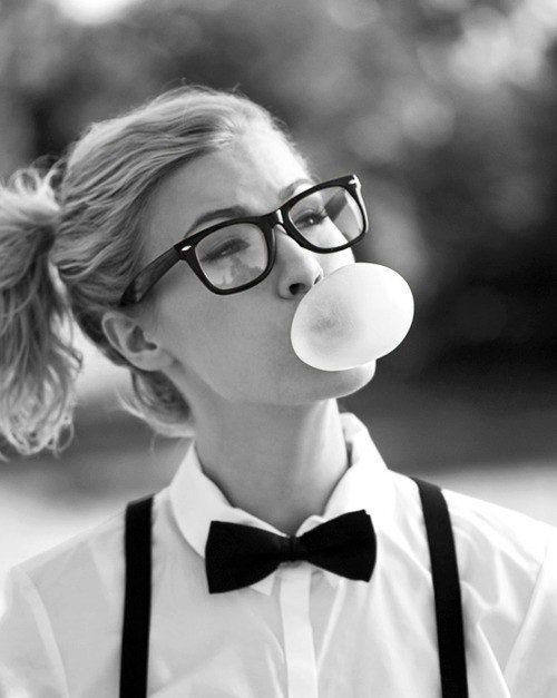 Geek girl.