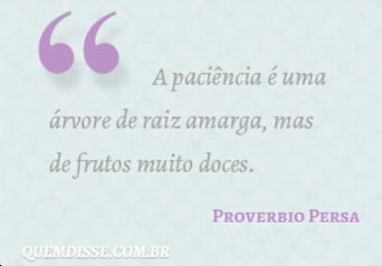 Frase de Proverbio Persa