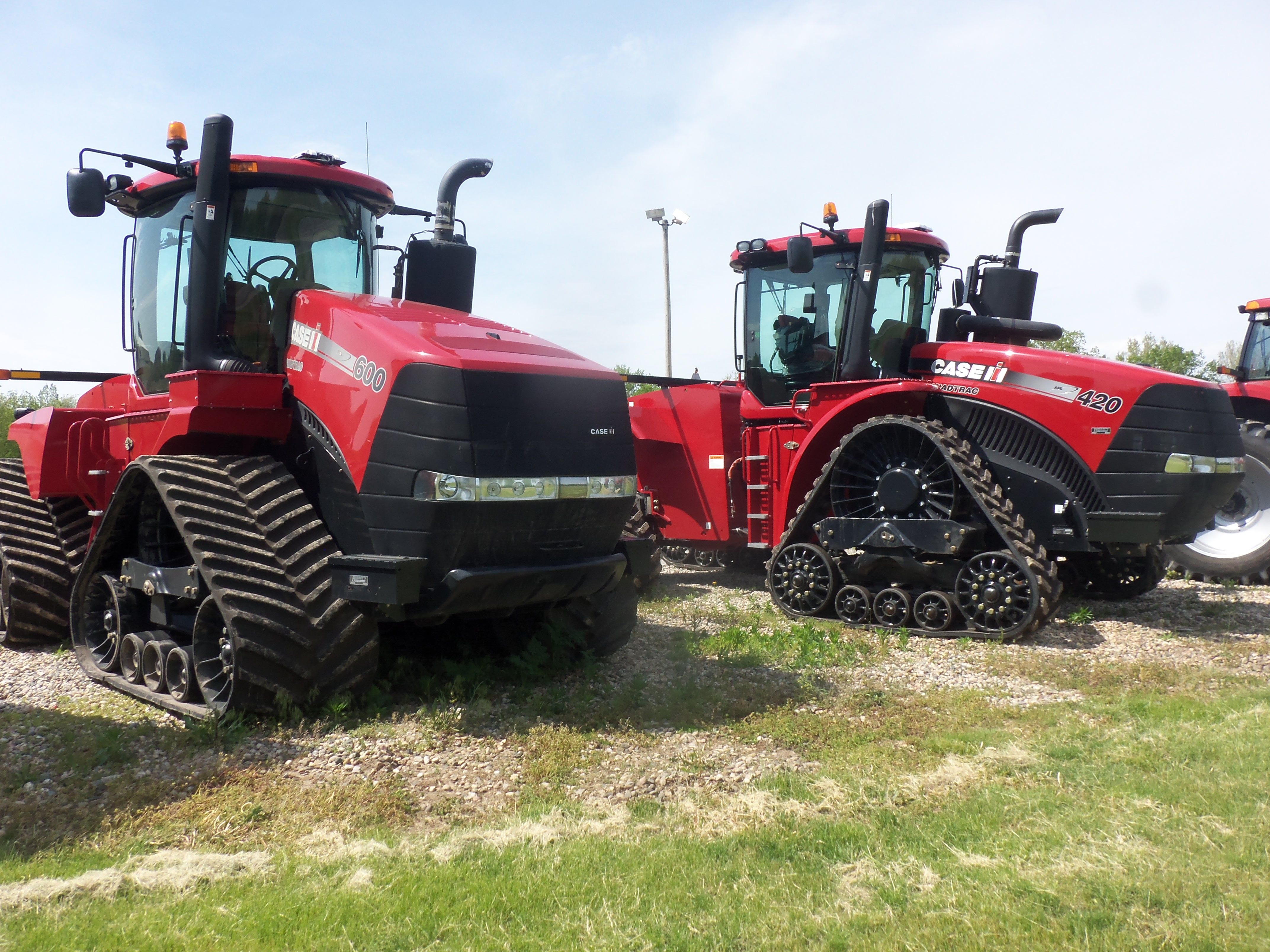 CaseIH Steiger 600 Quadtrac & Steiger 420 Rowtrac