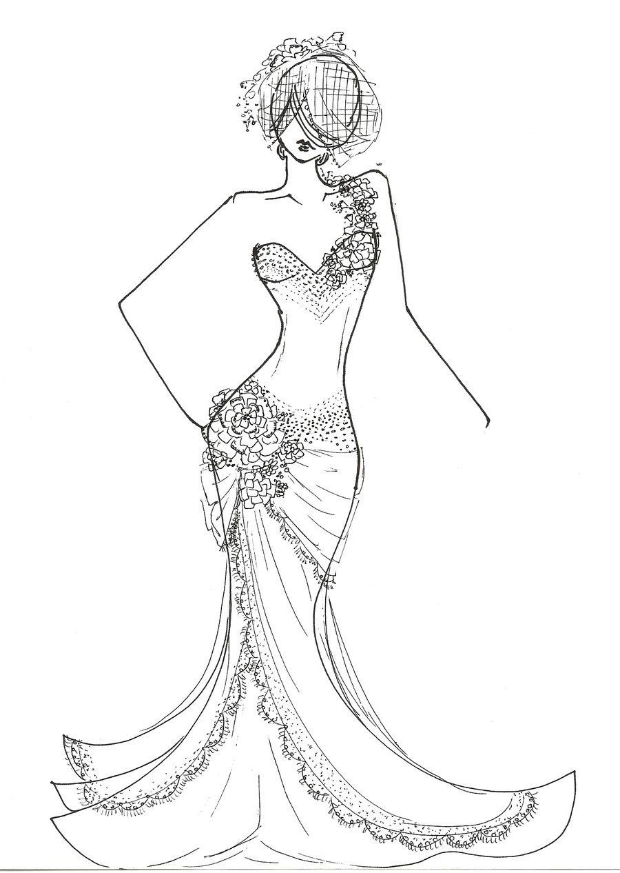 Fashion Design Fashion Coloring Pages People Fashion Design Coloring Book Coloring Pages For Girls Colorful Fashion