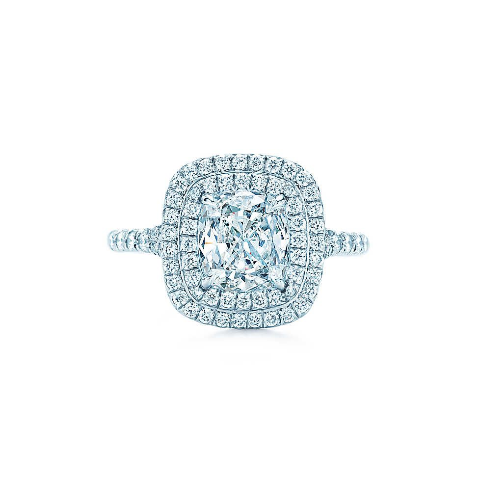Tiffany Soleste Engagement ring.  LOVE! But dont have 27,000.