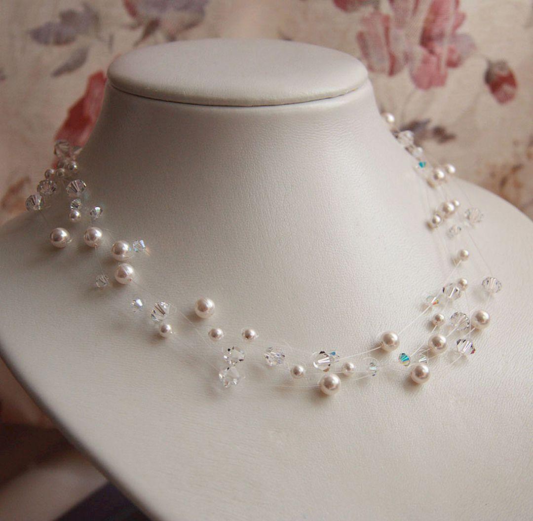 Beautiful Diy Wedding Necklace Ideas For Bridal Look Beautiful 25