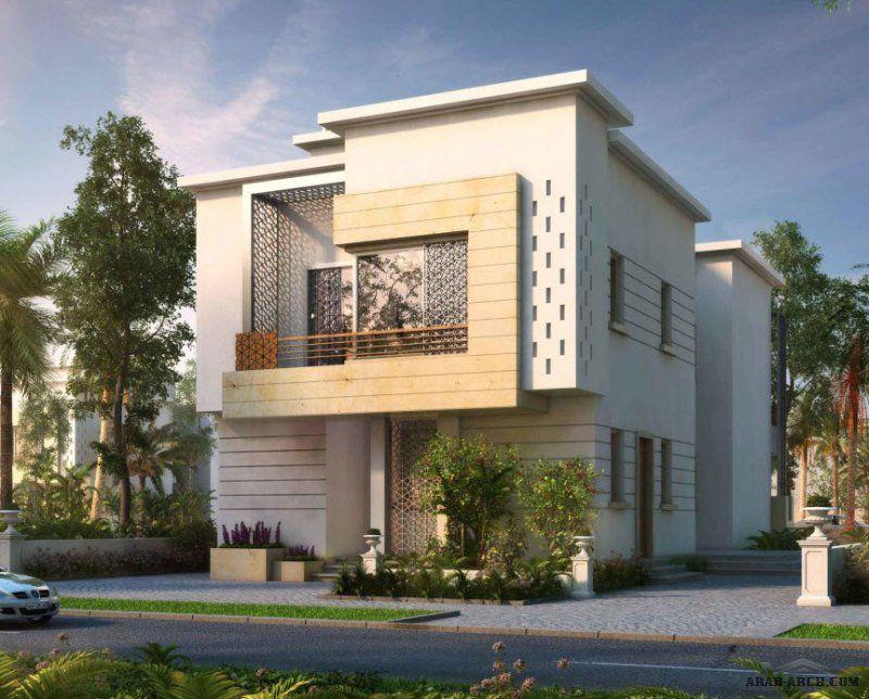 مخطط فيلا عصرية مودرن متوسطة المساحه House Design House Styles Mansions