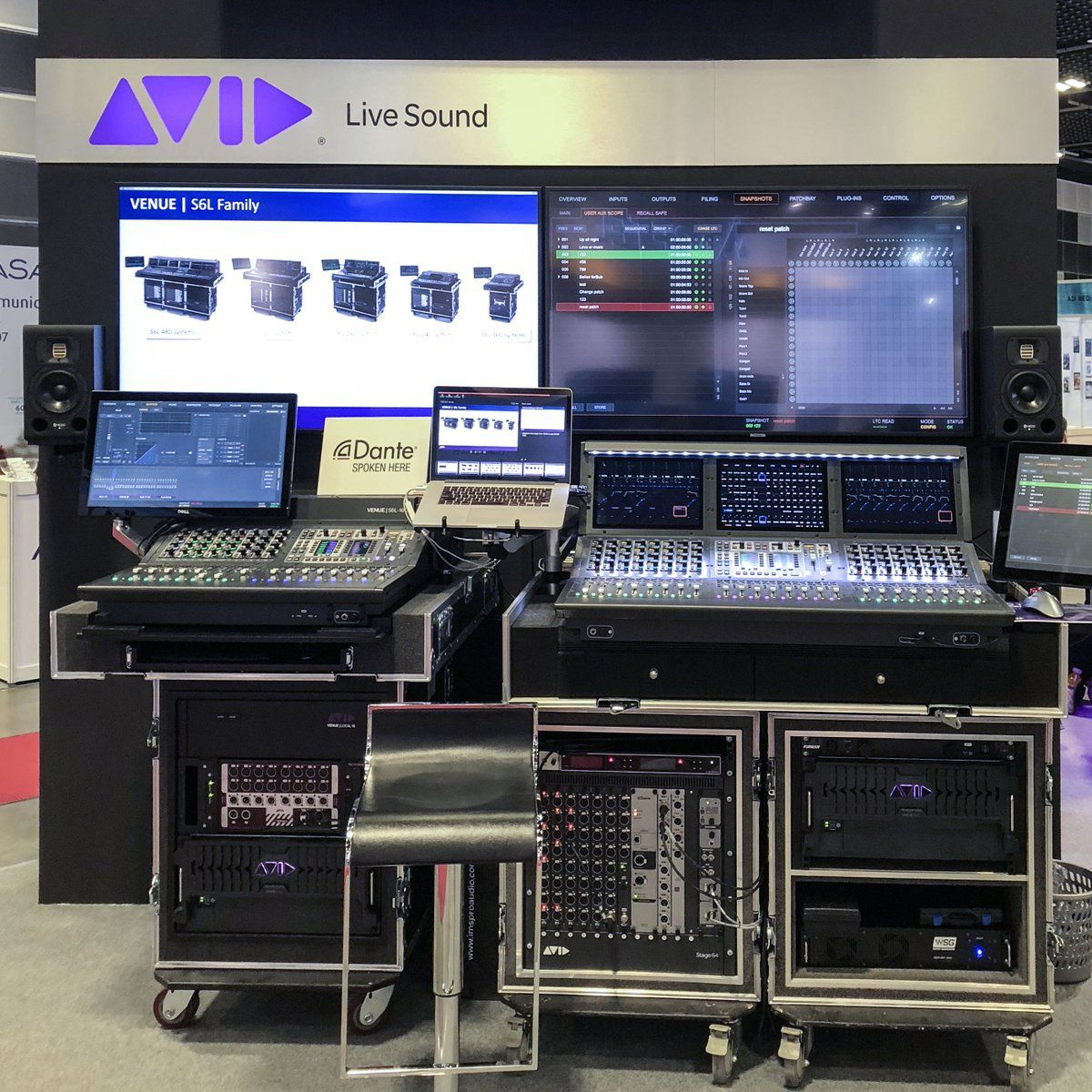 Avid on twitter radio station audio studio venues