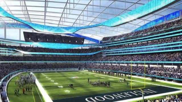 Rams Moving To Inglewood Chargers Have Option To Follow Nfl Stadiums Football Stadiums Sports Stadium