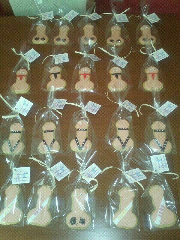 Galletas decoradas para una Despedida de Soltera!