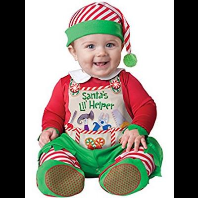 Santa S Lil Helper Santa S Lil Helper Christmas Costume Costume Baby Costume Christmas Costume Id Baby Fancy Dress Baby Elf Costume Santa S Helper Costume