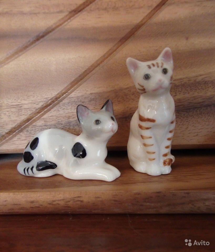 Кот кошка и 3 котенка