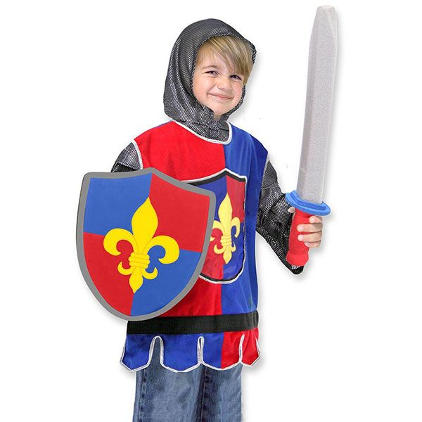 Knight Role Play Costume Set by Melissa