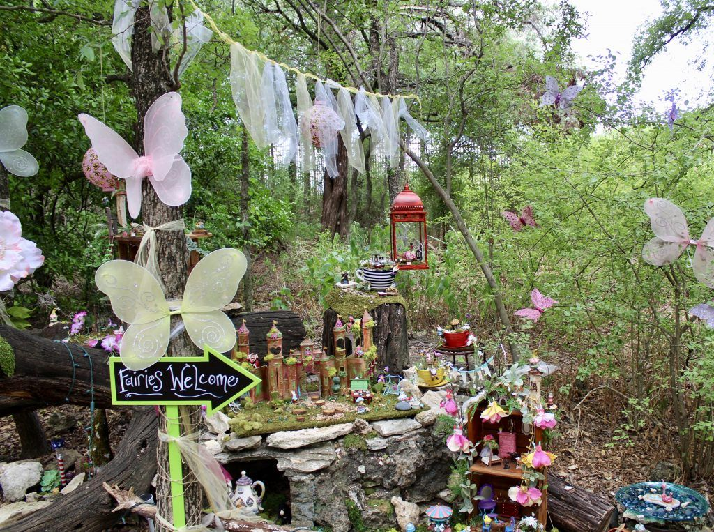 Tiptoe Into Whimsical Woodland Faerie Trail At Zilker Botanical