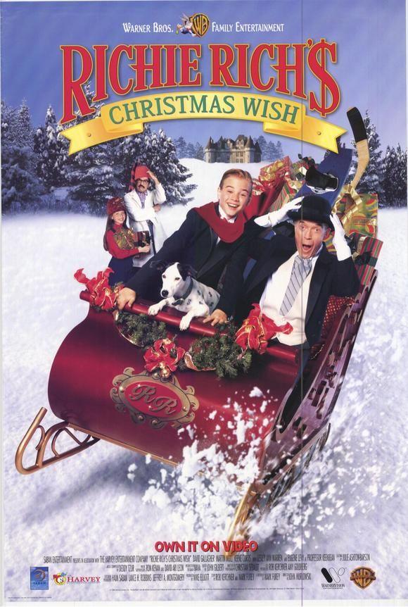 Richie Rich S Christmas Wish 1998 Disney Christmas Movies Christmas Movies Christmas Cartoons