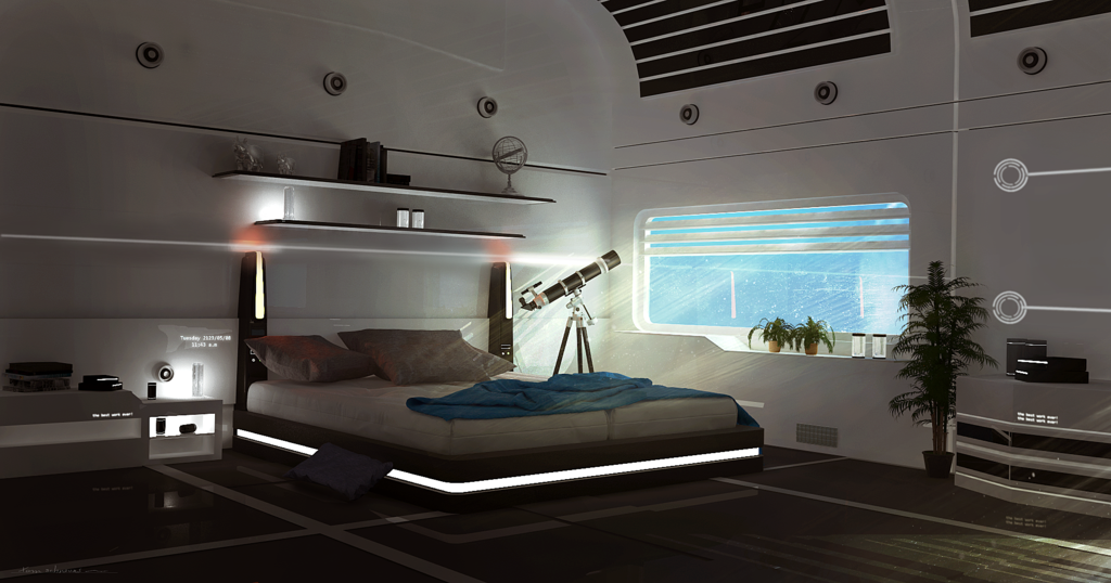 Sci Fi Room By Learn The Hows