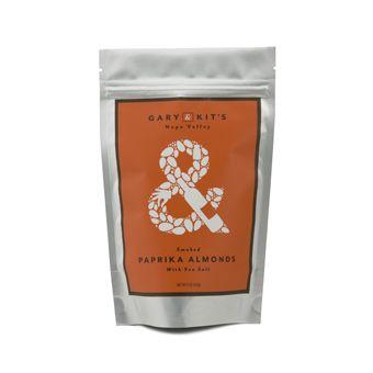 Smoked Paprika Almonds with Sea Salt