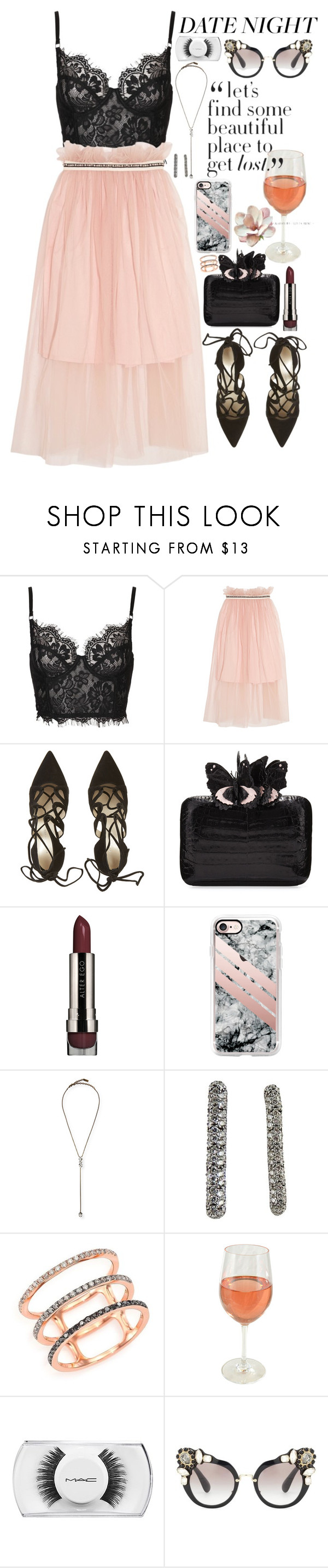 """""""❤°"""" by jordan-mobley ❤ liked on Polyvore featuring Mother of Pearl, Nancy Gonzalez, LORAC, Casetify, Auden, Jona, EF Collection, MAC Cosmetics and Miu Miu"""